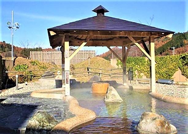 道の駅 桜の郷荘川 温泉