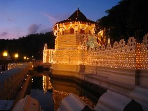 世界遺産 キャンディの仏歯寺
