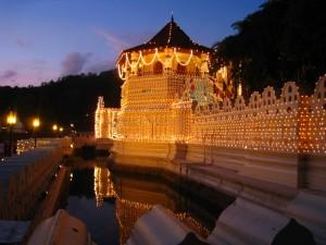 世界遺産キャンディの仏歯寺