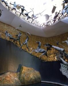 ジェットウイング・ライトハウスの彫刻