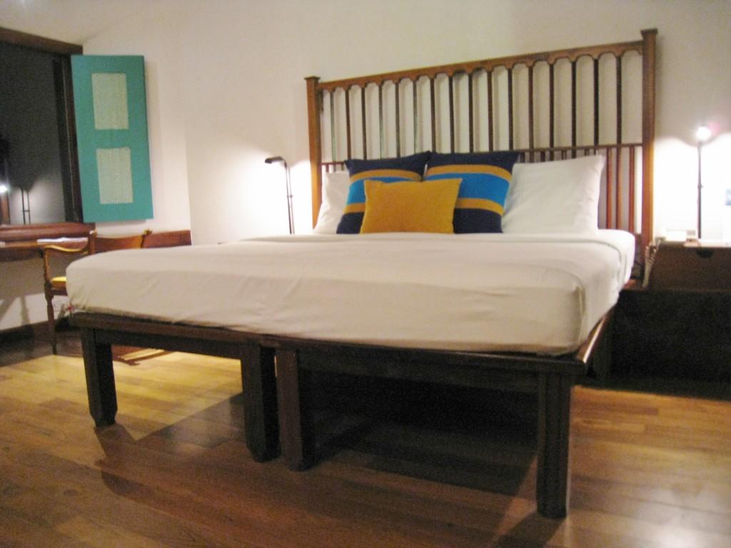ジェットウイングライトハウスのベッド