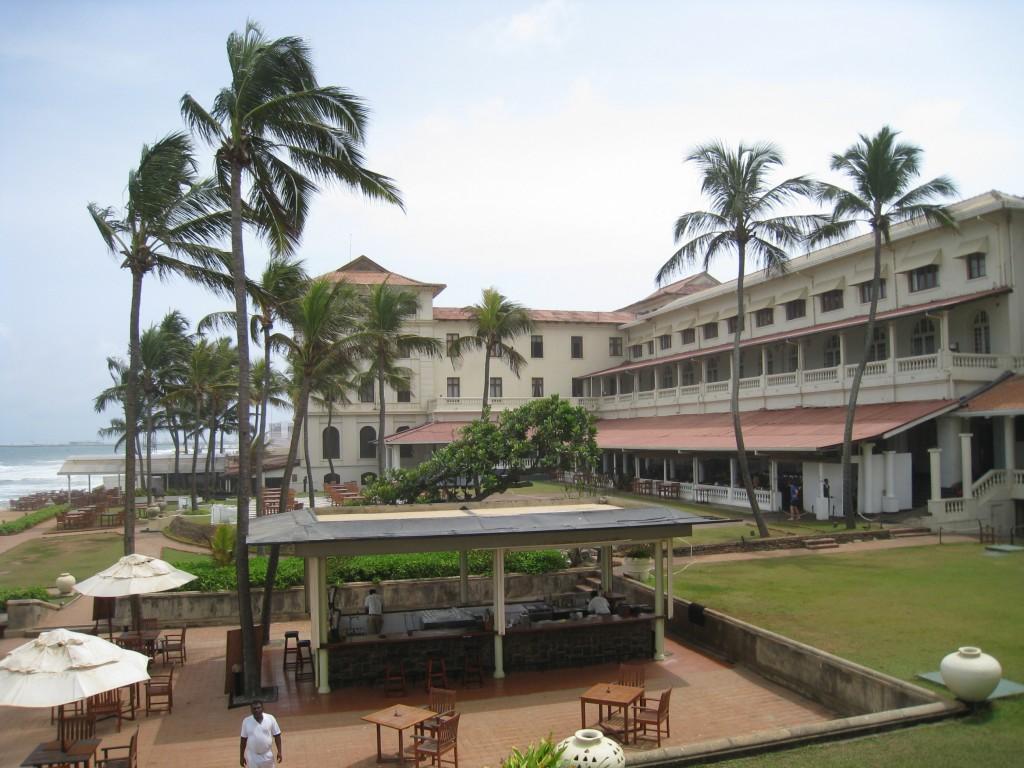 ゴールフェイスホテル 海に面したガーデン