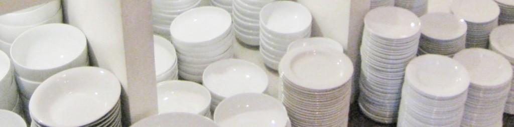 パラダイスロードの食器類