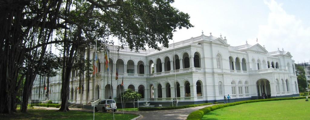 コロンボの国立博物館 外観