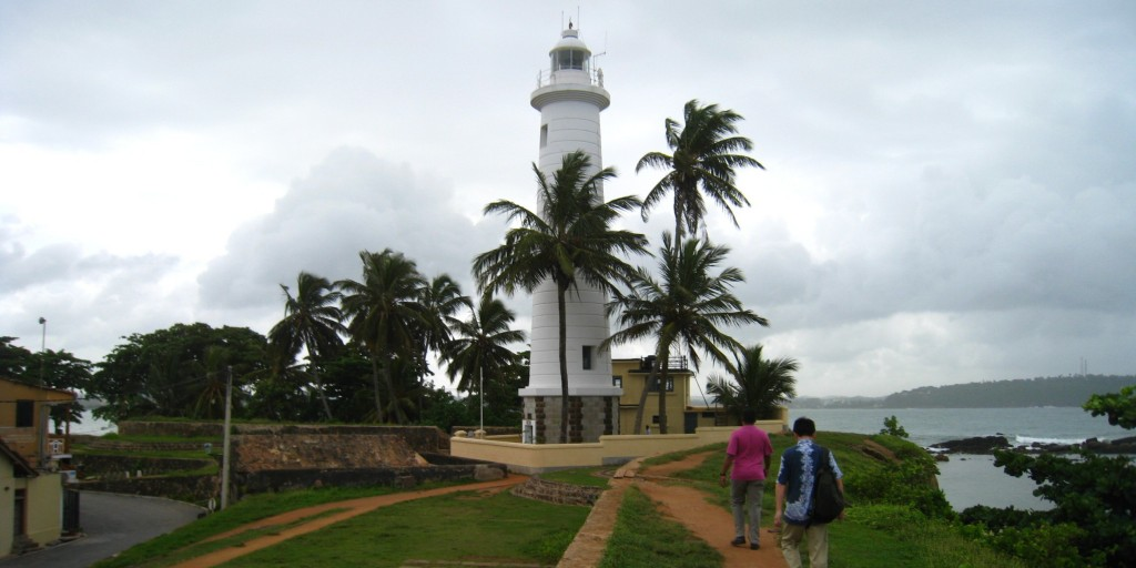 世界遺産ゴール旧市街にある灯台
