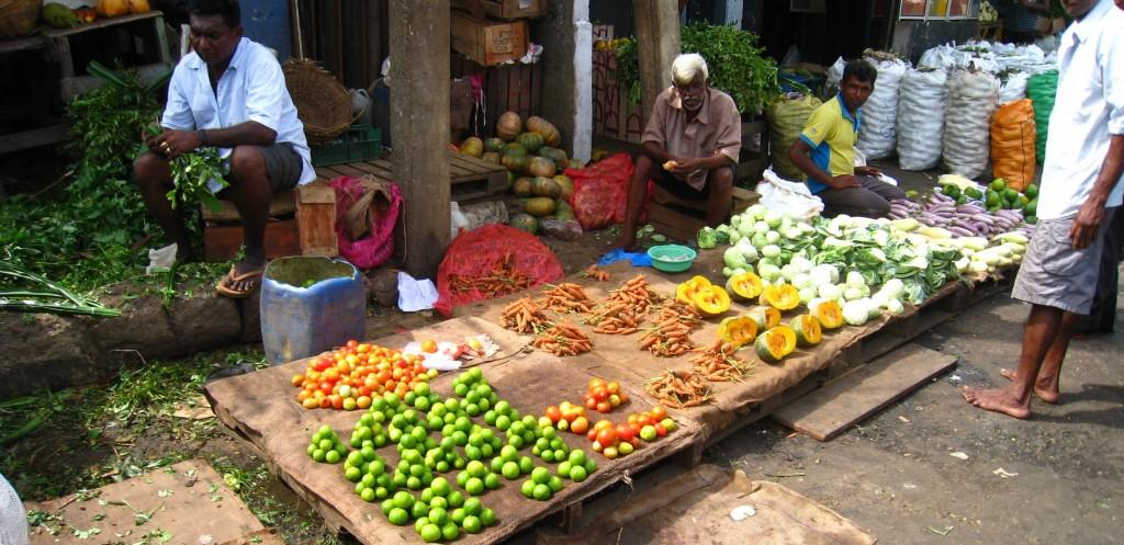 コロンボの市場