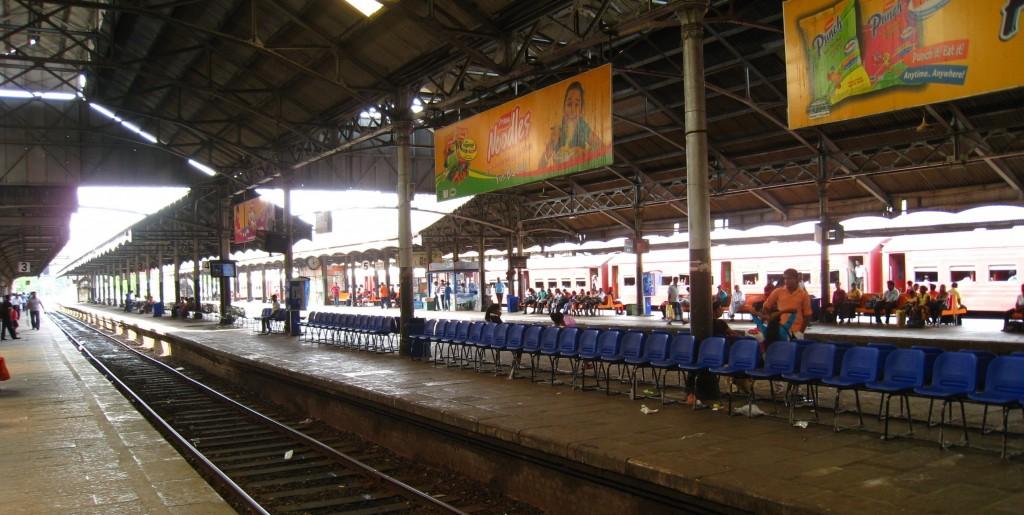 コロンボのフォート駅