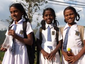 スリランカの学生たち