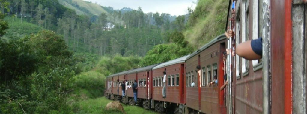 スリランカの列車
