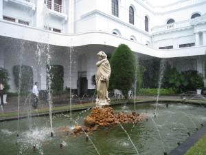 マウントラヴィニアホテルの噴水