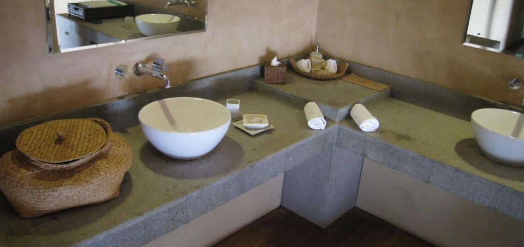 ヴィルウヤナのバスルーム
