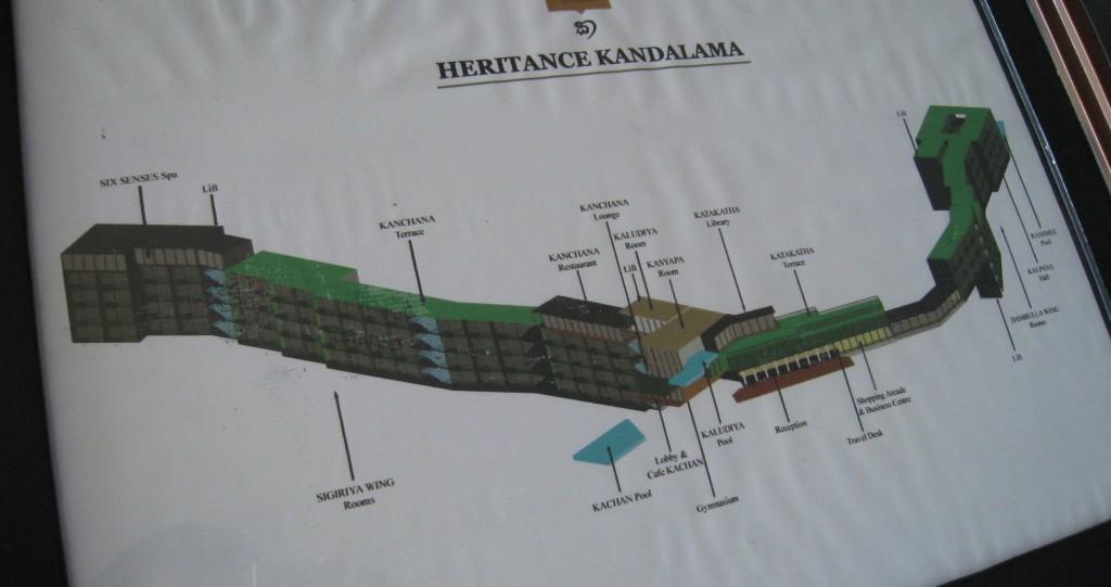 ヘリタンス・カンダラマの全容
