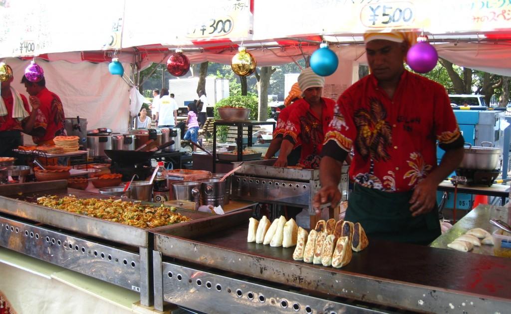 スリランカ料理のレストラン