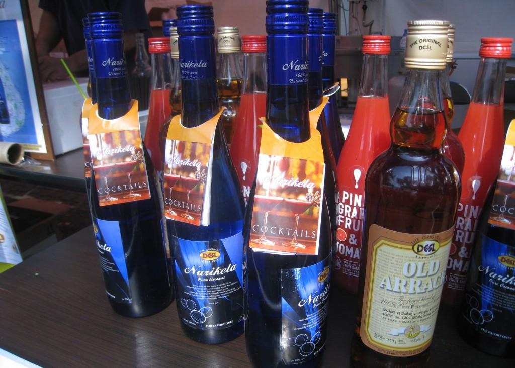 スリランカの蒸留酒 アラック