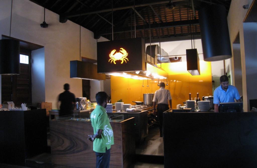 スリランカン ラグーンクラブを出すレストラン