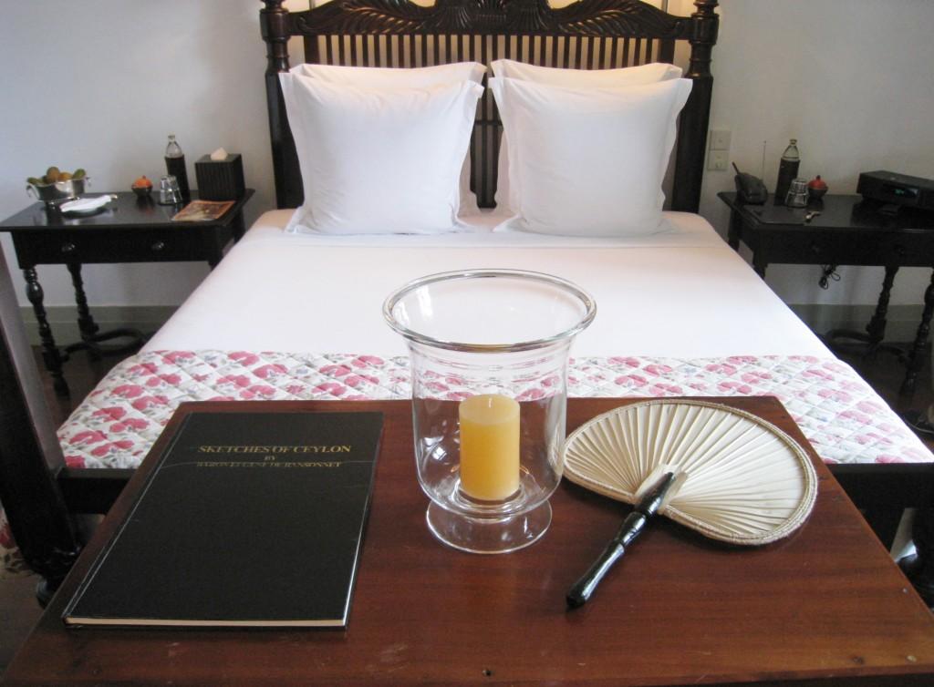 アマンガラの客室