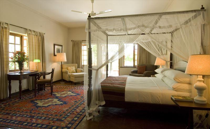 セイロンティートレイルズのベッドルーム
