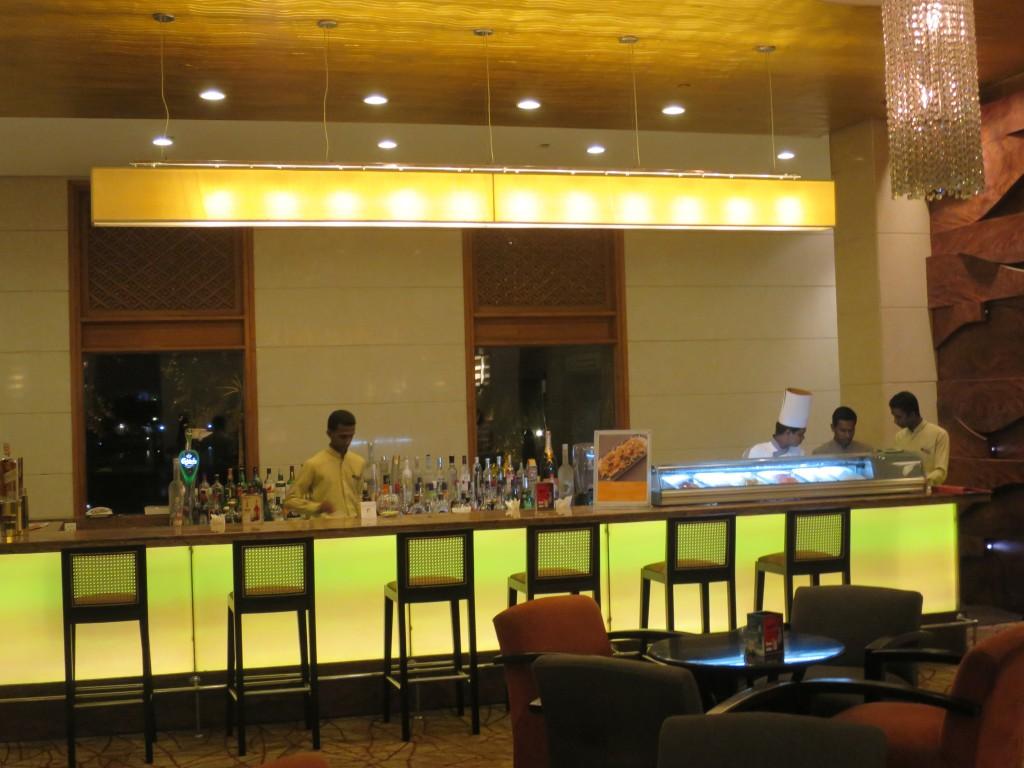 ホテルの寿司バー