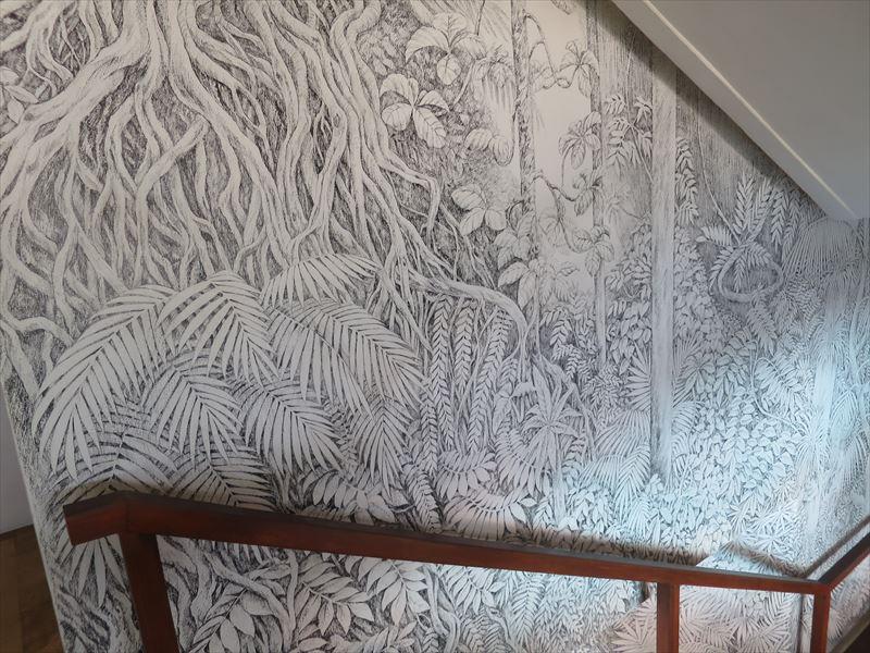 ヘリタンス・アフンガラの階段の壁