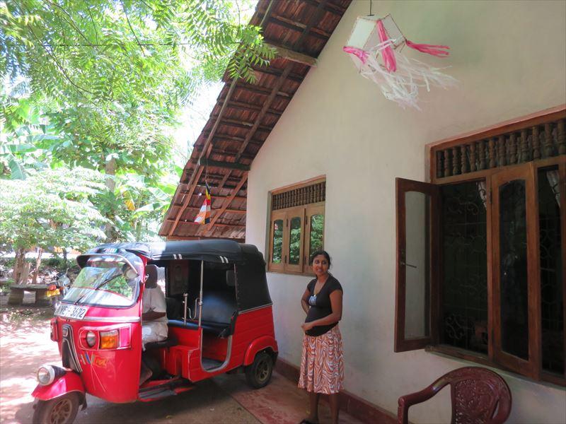 スリランカ人のお宅