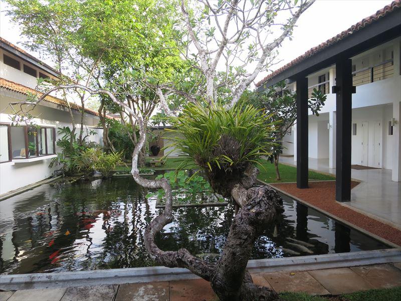 アバニ・ベントータの中庭