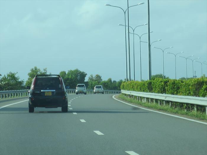 高速道路は渋滞知らず
