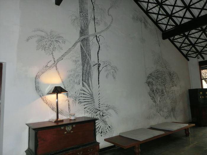 クラブ・ヴィラ 30年前の壁画