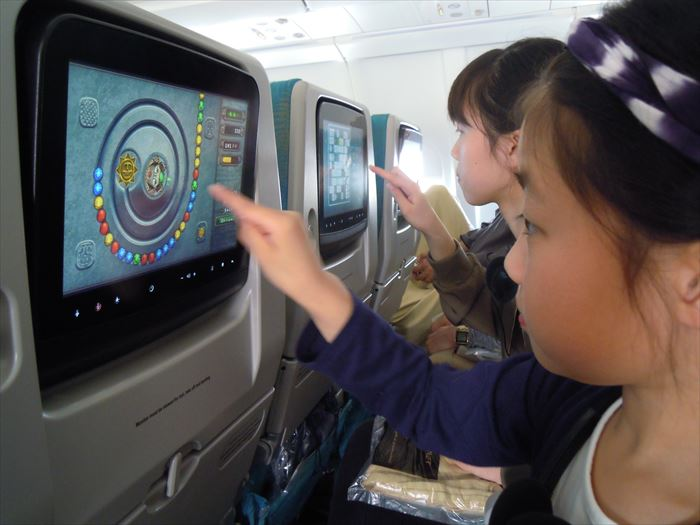 スリランカ航空 機内の様子