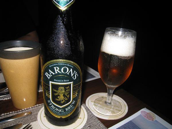 スリランカのビール バロン