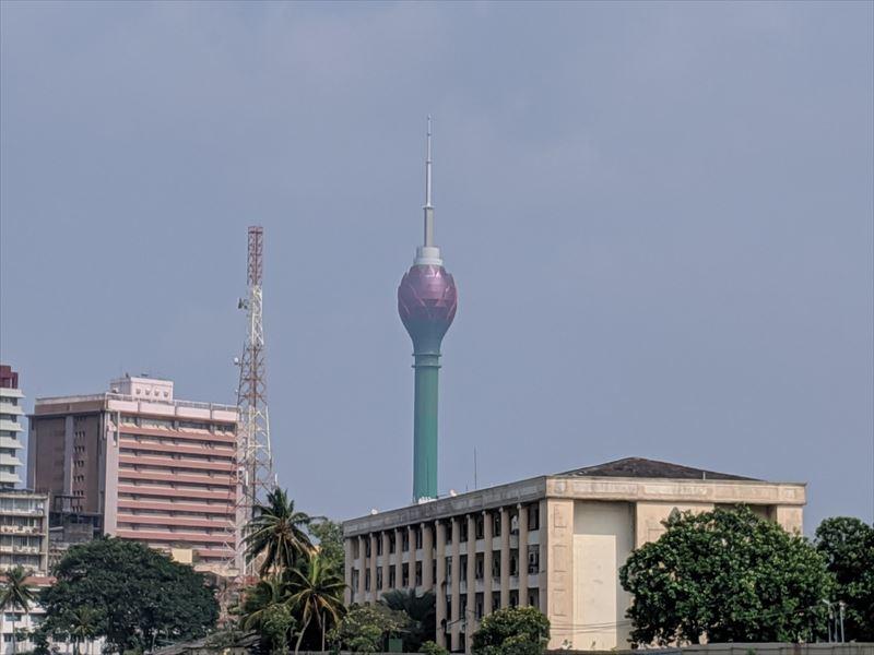 コロンボのロータスタワー